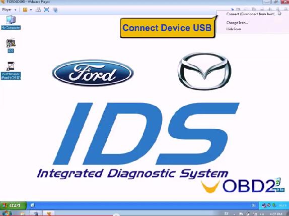 How to install VXDIAG VCX NANO Ford/Mazda IDS V95 UOBDII