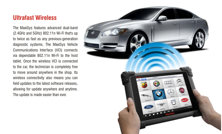 MaxiSYS Pro MS908P diagnostic system