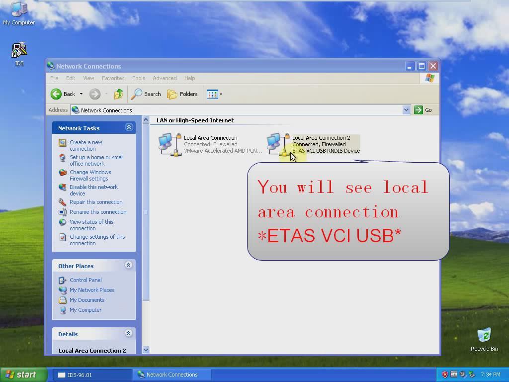 ETAS VCI USB