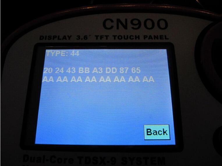CN900-key-programmer-write-W140-chip-6