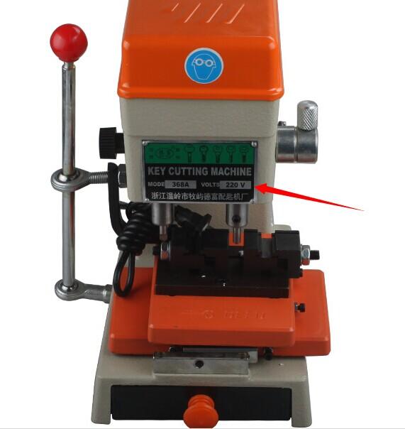 368a-key-cutting-machine-power-supply