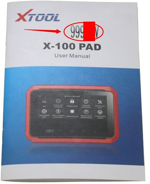 Xtool X100 PAD Tablet Active Procedure | Key Cutting Machine