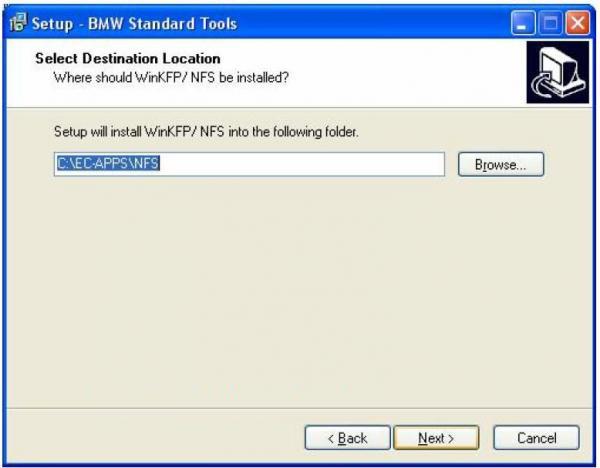 BMW INPA Ediabas software and setup instruction step7