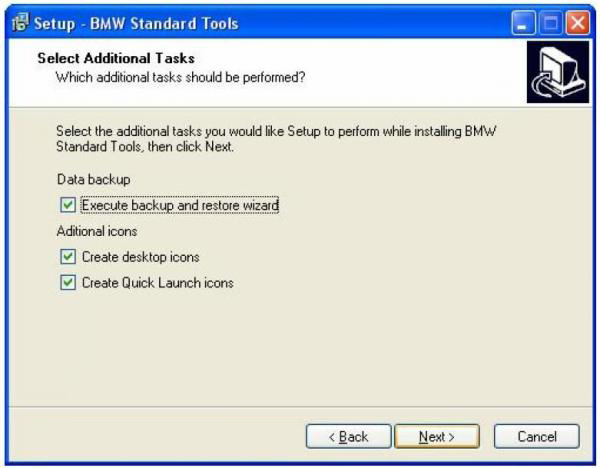BMW INPA Ediabas software and setup instruction step11