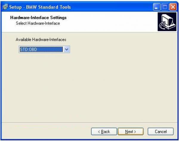 BMW INPA Ediabas software and setup instruction step12