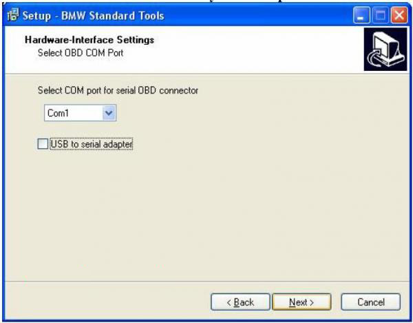 BMW INPA Ediabas software and setup instruction step13