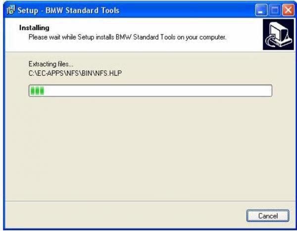 BMW INPA Ediabas software and setup instruction step16