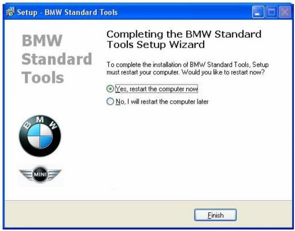 BMW INPA Ediabas software and setup instruction step17