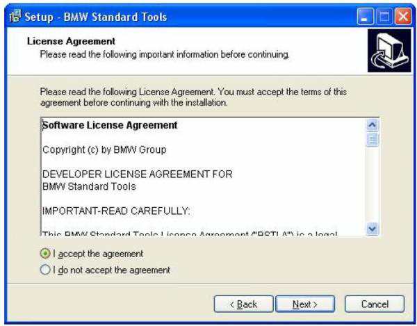BMW INPA Ediabas software and setup instruction step3