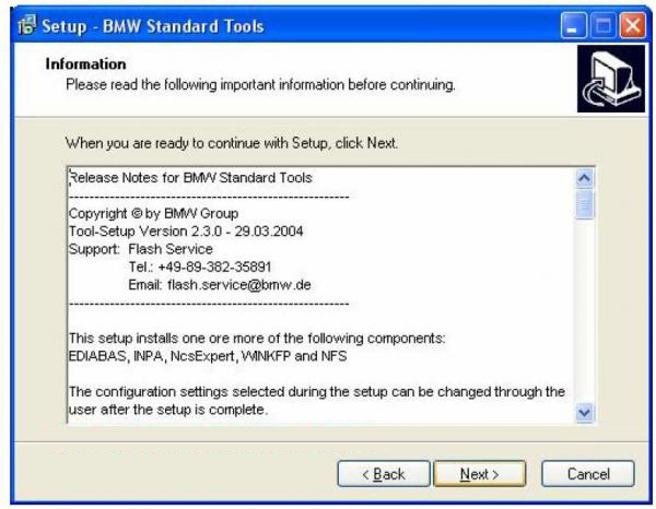 BMW INPA Ediabas software and setup instruction step4