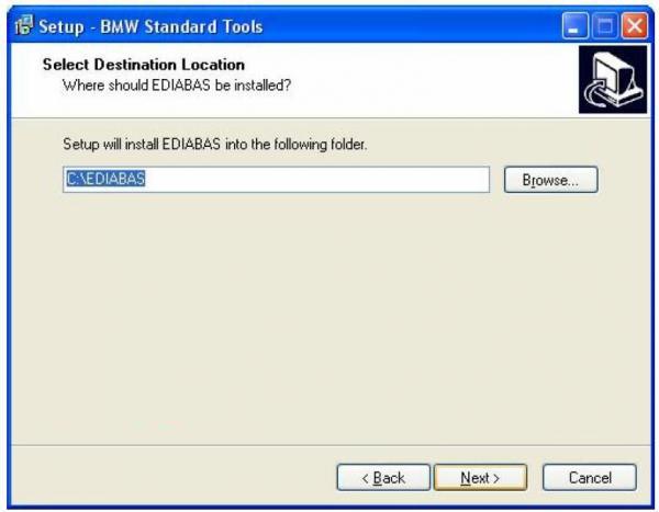 BMW INPA Ediabas software and setup instruction step6
