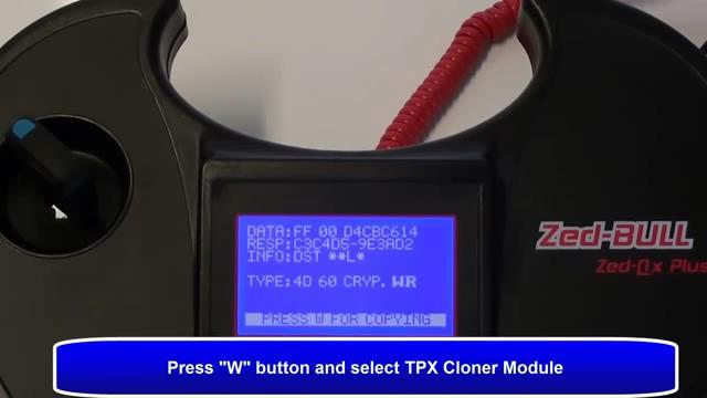 press w button-07