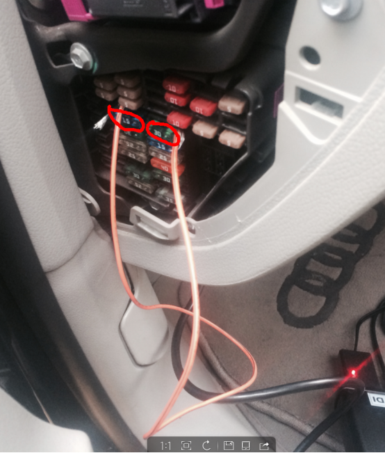 Audi A6L-2.0T before 2011 lost all keys, how to make new key524