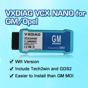 VXDIAG VCX NANO for GM/Opel