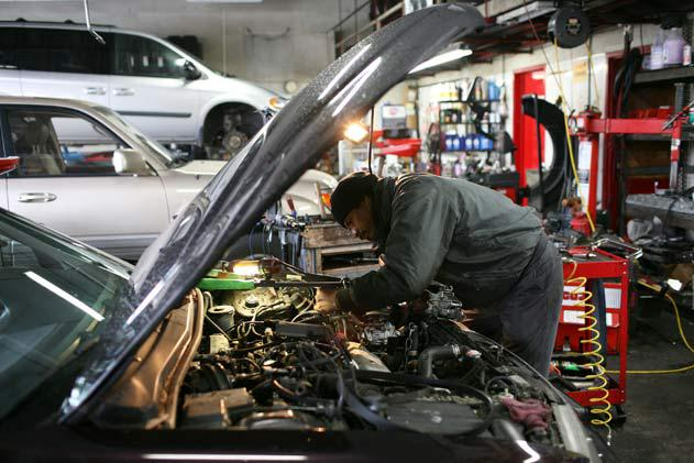 two auto technicians 1