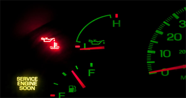 Sign-Of-Low-Oil-Pressure