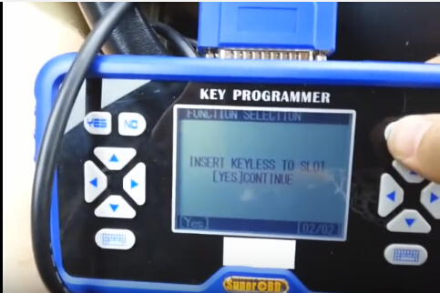 SKP900 adds Ford Mondeo 2008 smart key 8