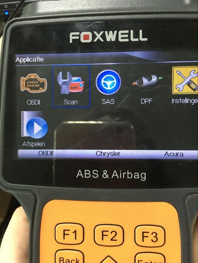 Foxwell-NT630-reset airbag-GMC-2005 (1)