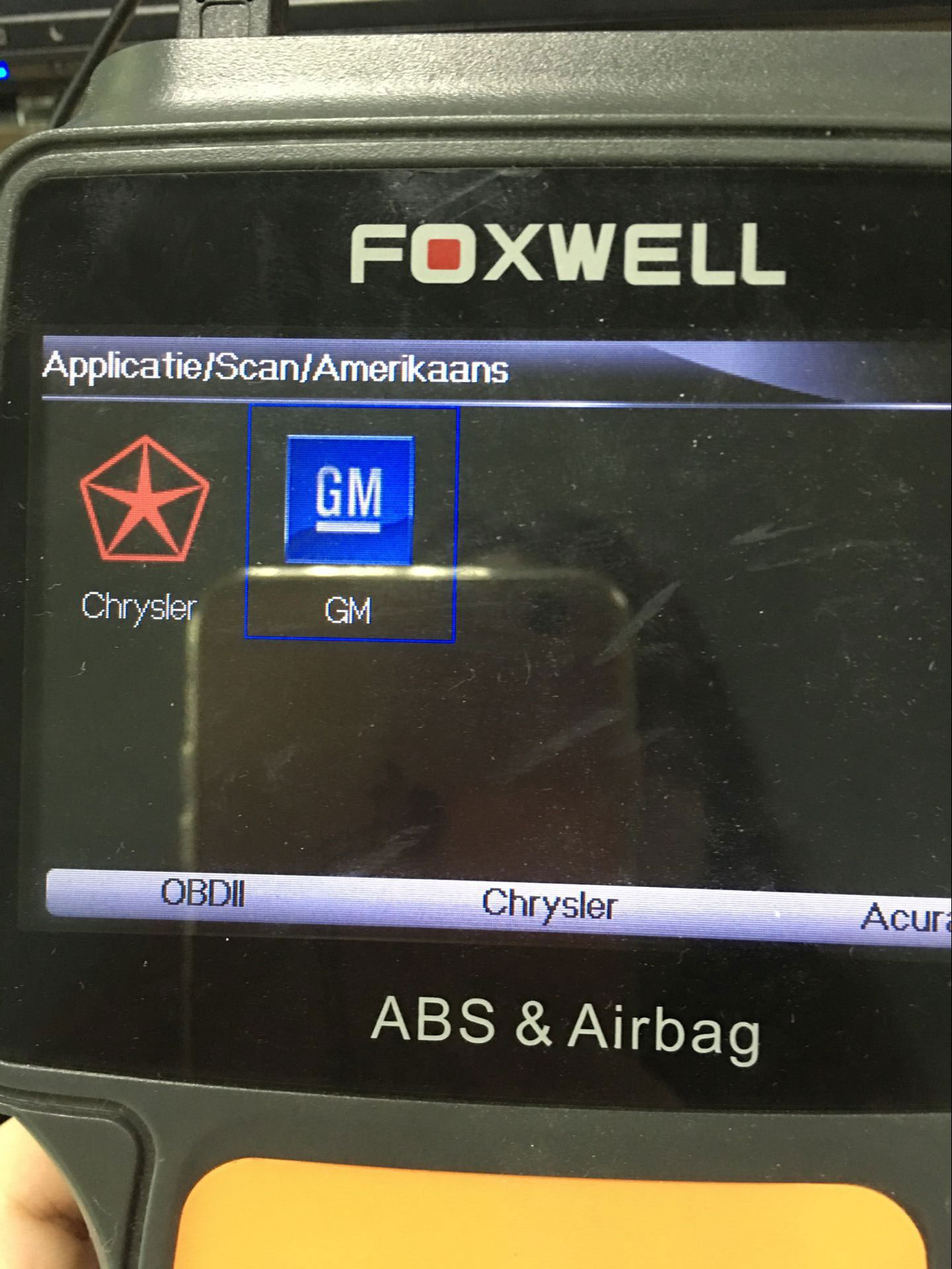 Original Foxwell Nt630 Reset Airbag On Gmc 2005 Truck