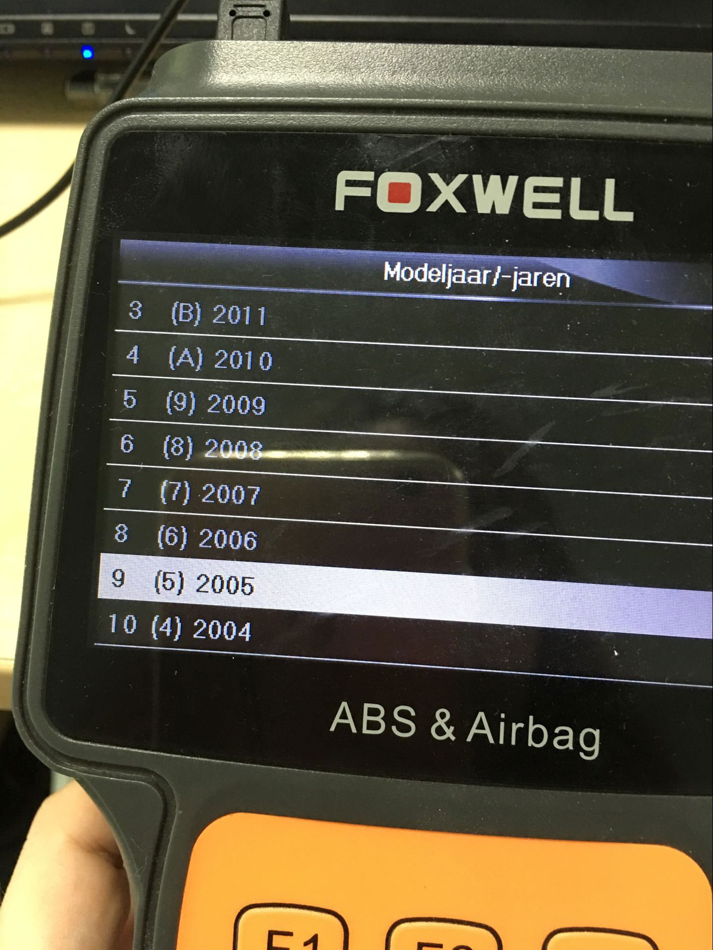 Original Foxwell Nt630 Reset Airbag On Gmc 2005 Truck Car Diagnostic Tool
