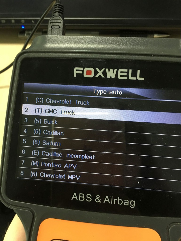Foxwell-NT630-reset airbag-GMC-2005 (4)