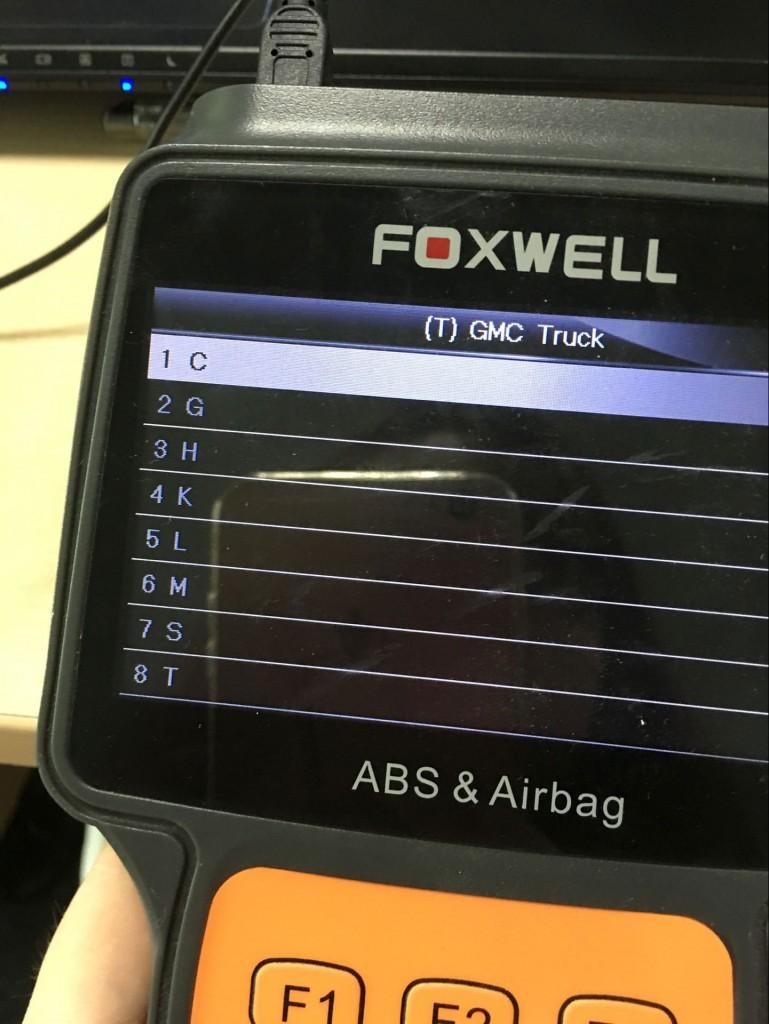 Foxwell-NT630-reset airbag-GMC-2005 (5)