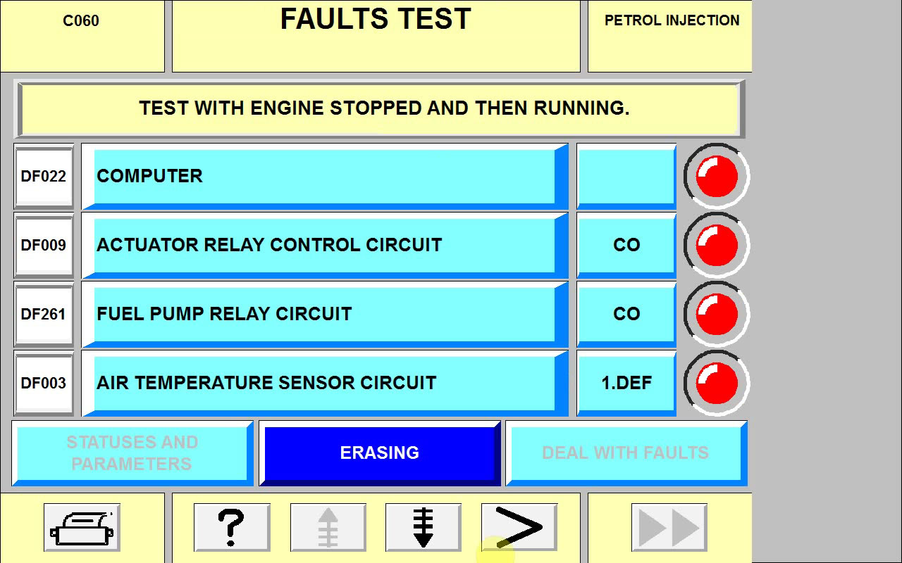 CAN CLIP V158 read & erase faults for Renault – success