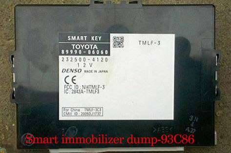How to use toyota lexus smart key programmer to match key