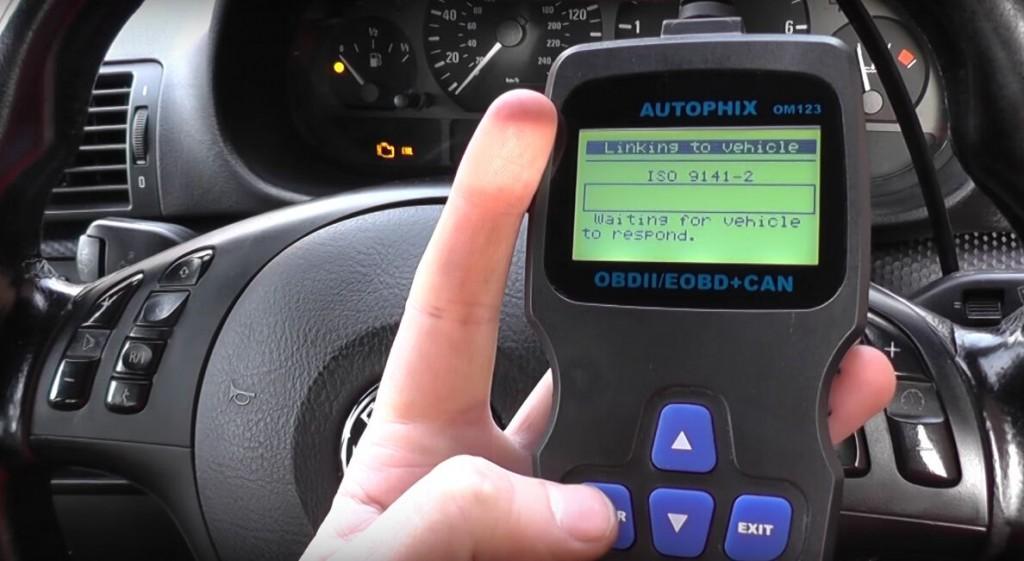 Autophix-om123-BMW-engine-fault-3