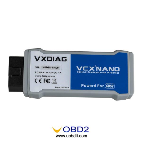 VCMII clone cheap alternative: VXDIAG Nano VS ELM327 running