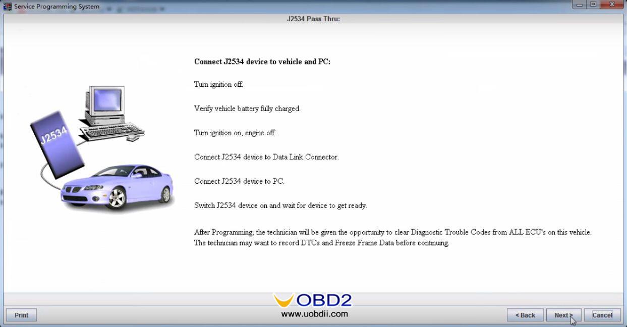 How VXDIAG VCX NANO GM reprogram ECU ECM TCM for 2008 Buick