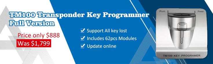 TM100 key programmer