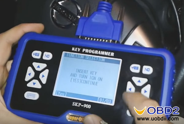 How To Program Nissan Key >> How To Program Key For Nissan Versa 2012 Via Superobd Skp900