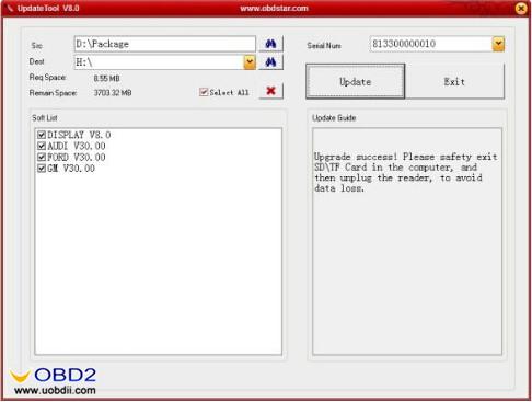 obdstar x300m update 6