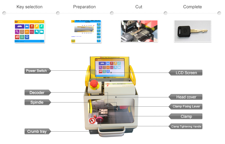 sec-e9-cnc-automated-key-cutting-machine