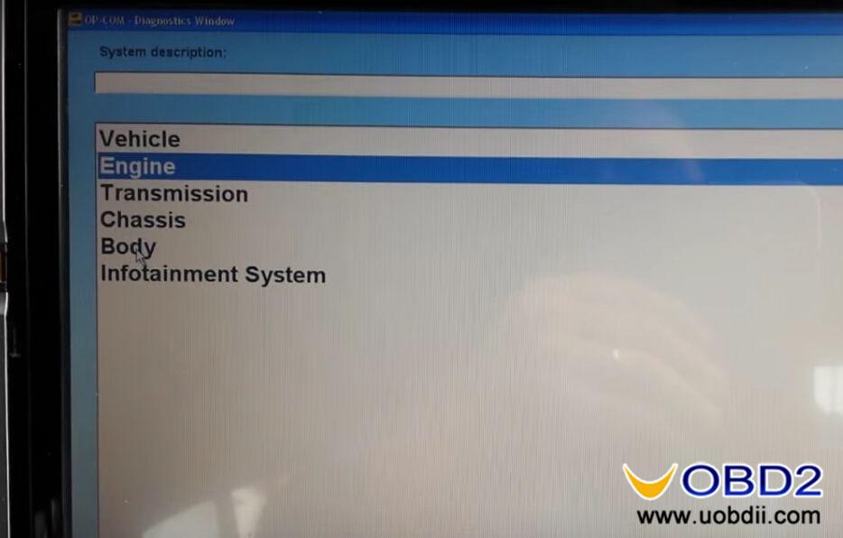 OPCOM-reset-reprogram-Vauxhall-engine-ECU-8
