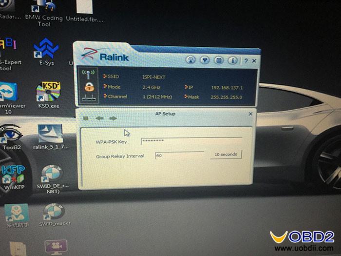 How to: BMW ICOM A2+B+C WIFI Setting |Car Diagnostic Tool
