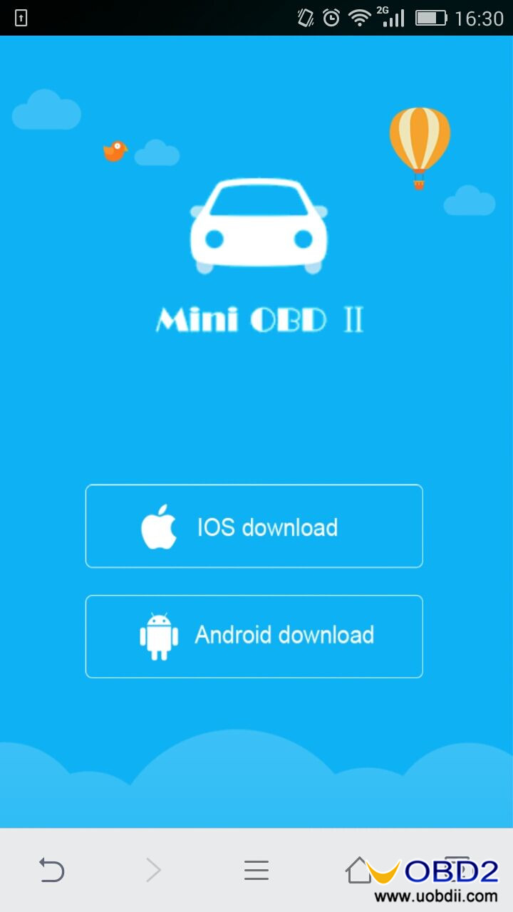 How to use MINI OBD2 V4.0 ELM327-03