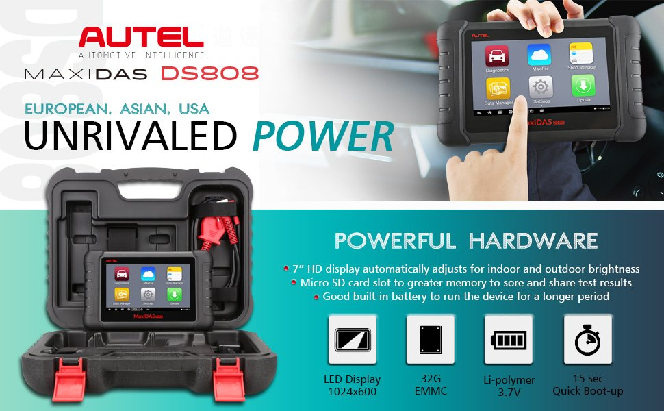 Autel Maxidas DS808 Full Set Questions and Answers (FAQ) |Car