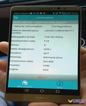 icarscan-diagnose-BMW-520Li-2014-5