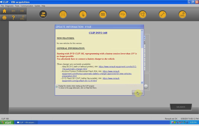 logiciel can clip renault gratuit v168