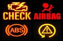 dashbaord warning lights