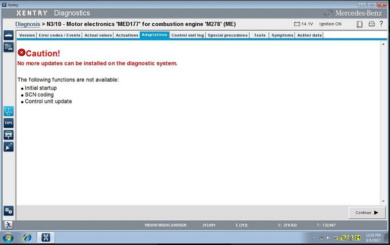 mb-star-c4-xentry-error-no-more-updates-solution-1