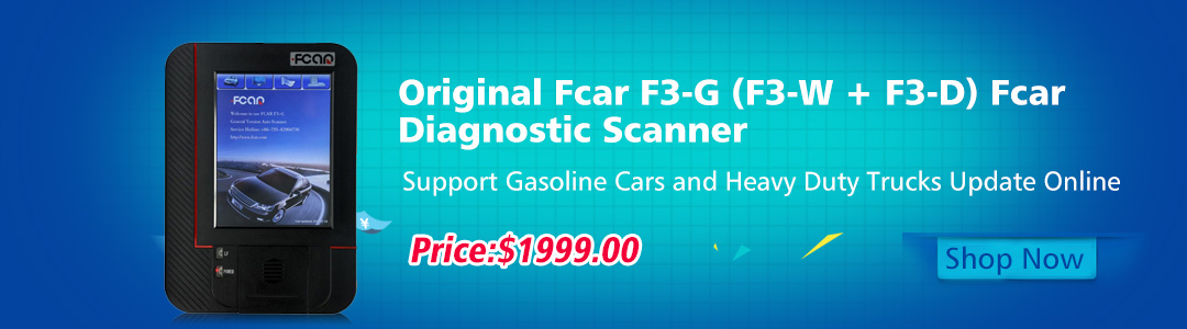 Fcar F3-G Heavy Duty Diagnostic Scanner