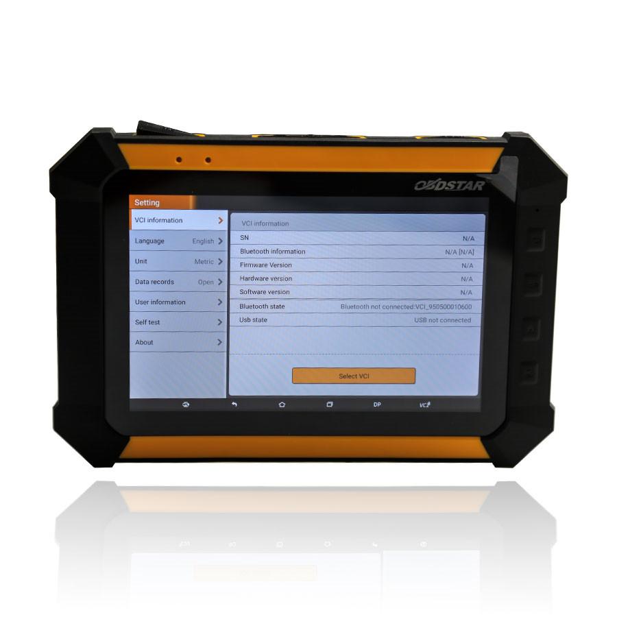 OBDSTAR X300 DP IMMO & Odometer reset car list & Feedback