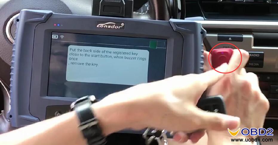 Lonsdor K518ISE Program Toyota LEXUS ES200 All Key Lost (18)