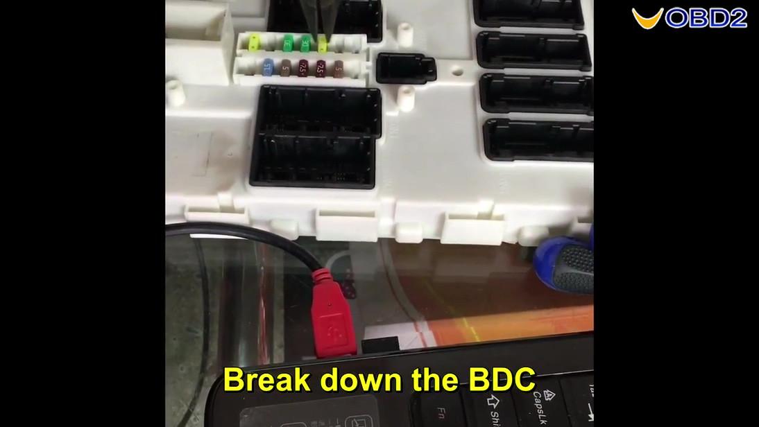 Vvdi pro adapter and vvdi2 program bmw bdc all key lost-05