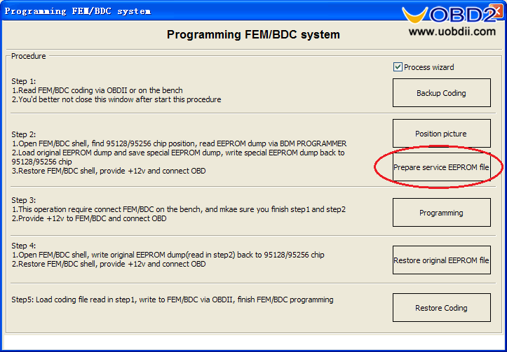 Vvdi pro adapter and vvdi2 program bmw bdc all key lost-12
