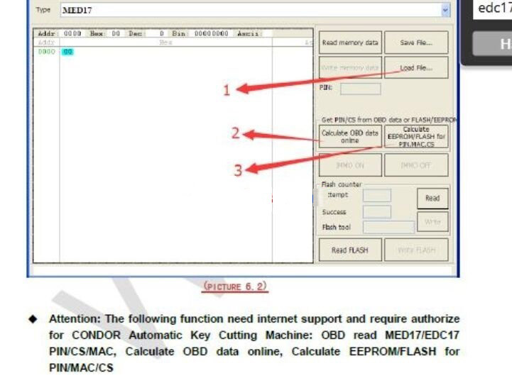 """Today, I read a post on DK forum entitled """" VVDI2 users , free EDC17 and MEV17 authorization"""", and some users provide serial number public for authorization.   Actually the free EDC17 and MEV17 authorization is limited, to get one extra Xhorse Condor mini key cutting machine, Xhorse VVDI2 could active all of these function for free: includingOBD read MED17/EDC17 PIN / CS / MAC, calculate OBD data online, calculate EEPROM / FLASH for PIN/MAC/CS.  or use remote points to exchange PIN/MAC/CS. PIN/MAC/CS is: if you use Xhorse remote/key and add to car, every key will give you points.   For sale: Xhorse VVDI2 full version (VW/Audi/BMW/Porsche/PSA Newly Add BMW FEM/BDC Function)  http://www.uobdii.com/wholesale/vvdi2-key-programmer.html  Xhorse CONDOR XC-MINI Automatic Key Cutting Machine for sale http://www.uobdii.com/wholesale/ikeycutter-condor-xc-mini.html  for best price of VVDI2 plus CONDOR XC-MINI, contact at email: Sales@UOBDII.com."""