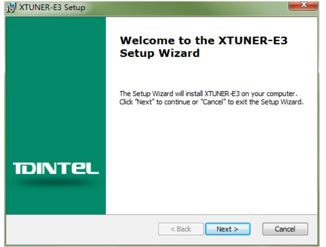 How to Install and Active XTUNER E3 Client (2)
